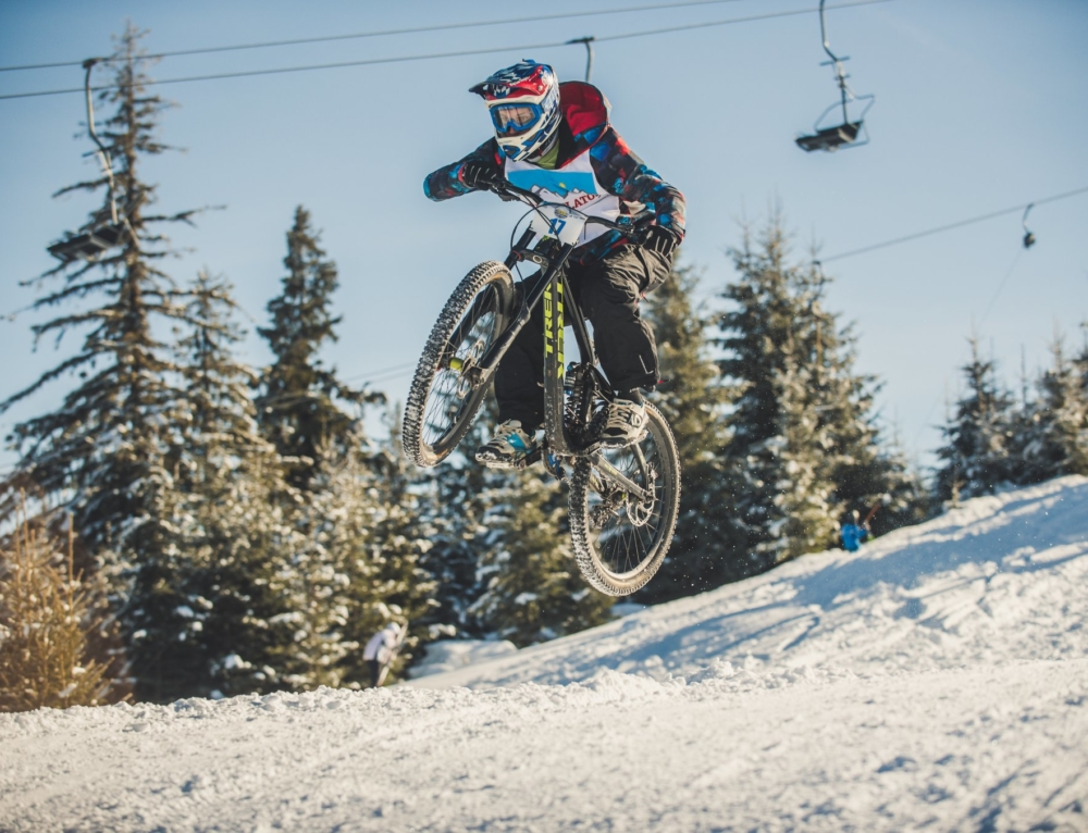 A Pescocostanzo va in scena il Winter Downhill